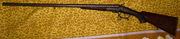 Французская курковая двустволка Martinier-Collin (Granger) 16к 1870-80